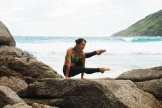 Stefanie Yoga Step!