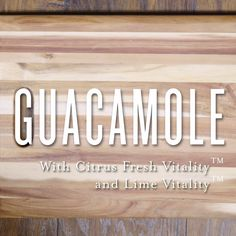 A Simple Guacamole Recipe from Young Living, using Citrus Fresh Vitality essential-oil blend, and Lime Vitality essential oil. Guacamole Recipe Easy, Guacamole Dip, Avocado Dip, Young Living Oils, Young Living Essential Oils, Young Living Vitality, Detox Your Home, Appetizer Salads, Essential Oils