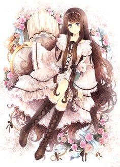 Art by manga artist Hagiwara Rin.