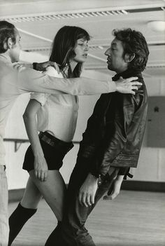 Jane & Serge (la belle et la bete, n'est-ce pas, ces deux?)