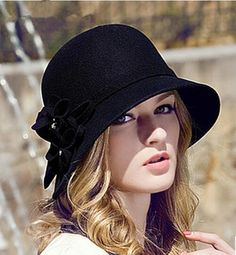 New Elegant Ladies Caps Wool Trilby Hat Bucket Hat Women'S Fashion Cloche Bowler Small Fedoras Hat Headwear From Jessiebee, $25.04 | Dhgate.Com