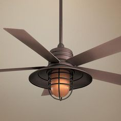 "JUST LIKE  THE BALLARD ONE? $449 54"" Rainman Oil Rubbed Bronze Ceiling Fan"
