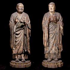 国宝 無著菩薩立像・世親菩薩立像 奈良・興福寺蔵 Nara, Statue, Google Search, Buddhism, Mandalas, Sculptures, Sculpture