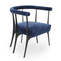 Armchair - Ulysse - Jean-Louis Deniot - Pouenat Ferronnier - SG5035F-BL
