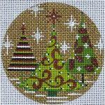 Gold Christmas Trees Item# X082