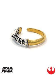 """""""Obi-Wan Saber"""" Ring by Han Cholo (Gold/Silver)"""