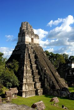 The Mayan City of Tikal. One of the most amazing places in the world.