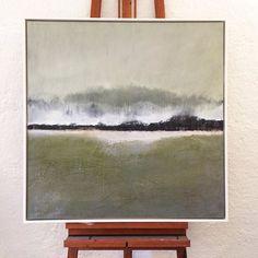 """Refugium"" From the horizon series #faery #imaginedragons #mixedmedia 80x80cm #canvas #2016 #atelier_katja_kündig #switzerland #graubünden #maienfeld #swissartist ready for #exhibition"