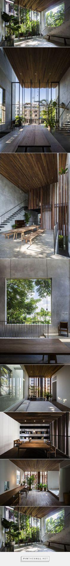 Vooral die tafel is scheun Architecture Antique, Architecture Design, Architecture Renovation, Tropical Architecture, Residential Architecture, Architecture Company, Architecture Interiors, Modern Interiors, Interior Exterior