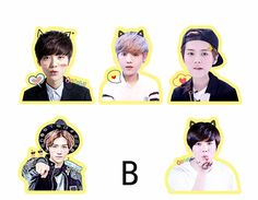Youpop Kpop Exo Luhan Reloaded I Album Pvc Stickers For Luggage Cup Notebook Laptop Car Fridge Diy Stickers Tz025 Fixing Prices According To Quality Of Products Jewelry & Accessories Jewelry Findings & Components