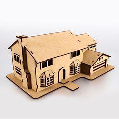 The Simpsons House Puzzle 3D