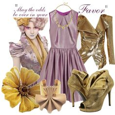 Hunger Games: Effie Trinket, created by fashionbeccafabulous on Polyvore