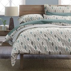 Chatham Leaf Organic Percale Duvet Cover / Sham. Not available. :-(