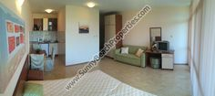 Furnished studio apartment for sale in Elite III, 350m. from the beach in Sunny beach, Bulgaria