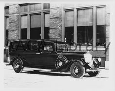 1933 Pierce Arrow Funeral Coach Factory Photo