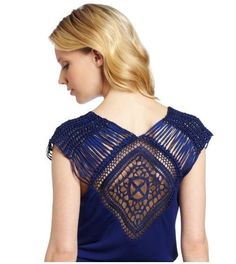 La espalda-macrame (selección) / espalda / la ropa con estilo de moda decoración y reforma de interiores