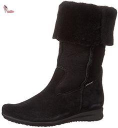 Mephisto-Botte-FLORIDA Noir buck 3600-Femme-39 FR 5,5 EU - Chaussures mephisto (*Partner-Link)