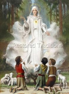 Our Lady of Fatima by C. Bosseron Chambers | Restored Traditions