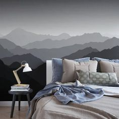 Tapeta na ścianę - MOUNTAINS SHADOW