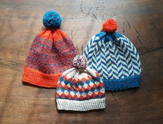 Ravelry: Herringbone Hat pattern by Anne Mizoguchi