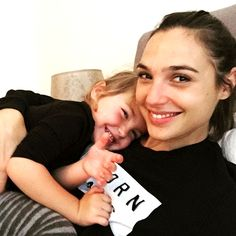 gal_gadot: Weekend is for family.. #loveofmylife #blessed #family