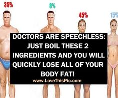 DOCTORS ARE SPEECHLESS: JUST BOIL THESE 2 INGREDIENTS AND YOU WILL QUICKLY LOSE ALL OF YOUR BODY FAT!