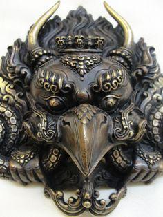 Garuda Mask traditionalartofnepal.com