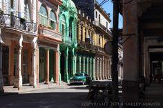 Havana street.  Cuba: streets (part 2)