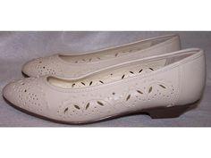 SALE SALE SALE  Mushrooms shoes slip ons flats Size 7 M  cut out designs. $9.99, via Etsy.