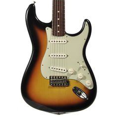 Fender Custom Shop '60 Stratocaster Modified Faded 3 Tone Sunburst