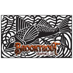 Fish Vector Clip Art by BrooktroutGraphicsCo on Etsy