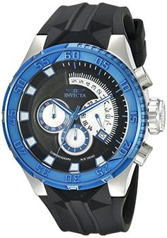 Invicta Mens 16925SYB IForce Analog Display Quartz Black Watch *** To view further for this item, visit the image link. (This is an affiliate link and I receive a commission for the sales)