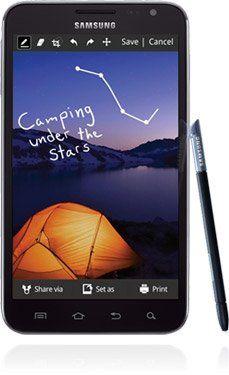 Samsung GALAXY Note Smartphone, Unlocked, 16GB, BLK with S pen | ($279.99)