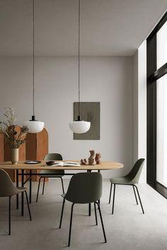 47 best cozy rustic dining room decor ideas you may love 9 Minimalist Interior, Modern Interior, Modern Furniture, Furniture Design, Nordic Interior Design, Minimalist Furniture, Art Furniture, Plywood Furniture, Minimalist Decor