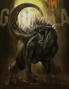 Godzilla Poster Version by NoBackstreetboys on deviantART