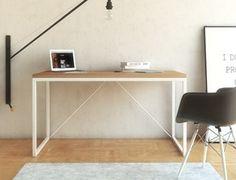 nowoczesne industrialne biurko BIG V