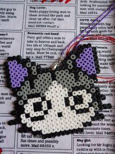 NEW Retro/Kawaii Hama Bead Necklaces (Cat, Unicorn, Cloud, Ghost, Eye) | eBay