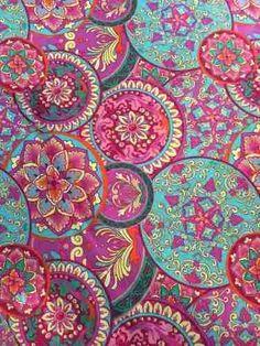 telas diseño interior gabardinas estampadas algodon