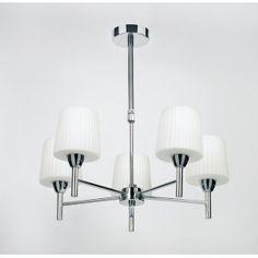 Buy Endon 91195 Ceiling Light | Endon 5 Light Chrome Ceiling Light