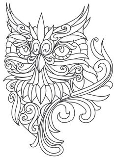 Owl Free Printable Coloring Pages --> For the best adult coloring books and… Owl Coloring Pages, Free Printable Coloring Pages, Coloring Books, Mandala Coloring, Free Coloring, Coloring Sheets, Printable Art, Quilling Patterns, Owl Patterns