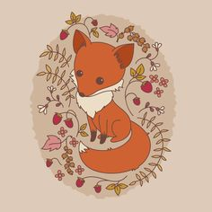 Here's how to create a hand drawn fox illustration in Adobe Illustrator