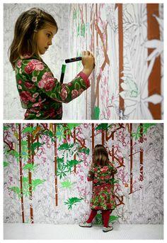 Jungle wallpaper by Studio Gemakker