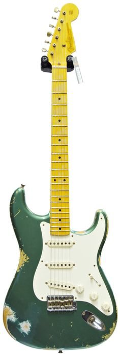 Fender 56 Strat Heavy Relic Sherwood Green (Pre-Owned) Main Product Image