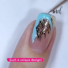Give your nails some makeover with these awesome nail design ideas! Cute Nail Art, Nail Art Diy, Diy Nails, Cute Nails, Nail Art Designs Videos, Nail Design Video, Nail Art Videos, Glitter Nail Art, Glitter Gif