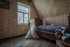 Ferme de Maraichage,verlaten,hoeve,bruidsjurk,urban exploration,huisje,abandoned