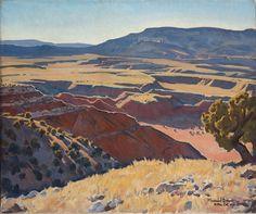 Contemporary Landscape, Abstract Landscape, Landscape Paintings, Landscapes, Landscape Quilts, Pierre Auguste Renoir, Imagen Natural, Maynard Dixon, Western Landscape