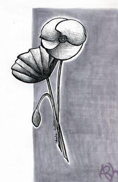 Day 3, Sketch 3, #Inktober! (Copyright Amalia Hillmann)