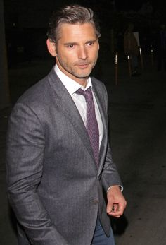 Cool Hot Hollywood Celebrity Eric Bana, 44, is letting his grey come in: would you hit it, always  forever? .   5 Hi-Resolution images in gallery.