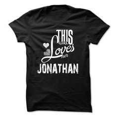 LIMITED EDITION - I Love My Jonathan Hoodie/Tshirt - #gifts #sister gift. ACT QUICKLY => https://www.sunfrog.com/Names/LIMITED-EDITION--I-Love-My-Jonathan-HoodieTshirt.html?68278