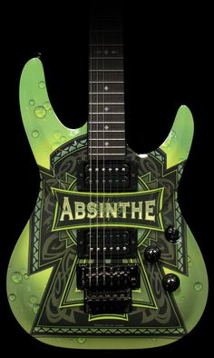 Goth:  #Absinthe ~ Guitar.